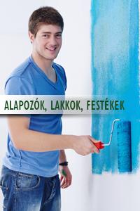 Alapozók, lakkok, festékek